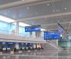Signalétique aéroportuaire d'Alger : cheminements